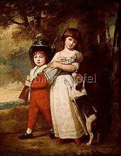George Romney: Die Vernon-Kinder.