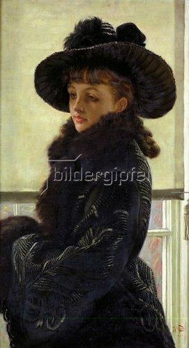 James Jacques Tissot: Bildnis der Kathlen Newton. 1877