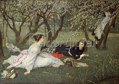 James Jacques Tissot: Frühling. 1865.