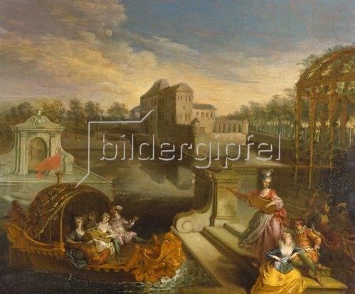 Jean Antoine Watteau: Frühling.