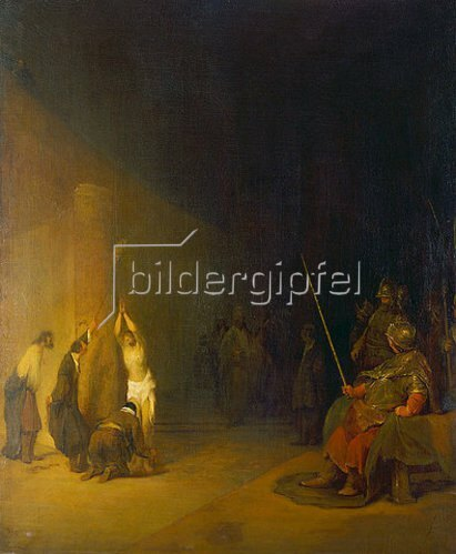 Aert de Gelder: Christus an der Geißelsäule.