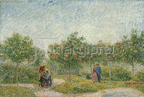 Vincent van Gogh: Garten mit Paaren