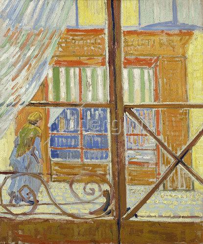 Vincent van Gogh: Ansicht einer Metzgerei 1888
