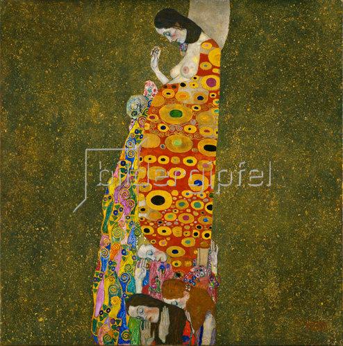 Gustav Klimt: Die Hoffnung II. 1907