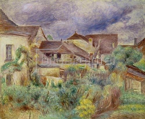 Auguste Renoir: Das Dörfchen Essoyes. 1894.