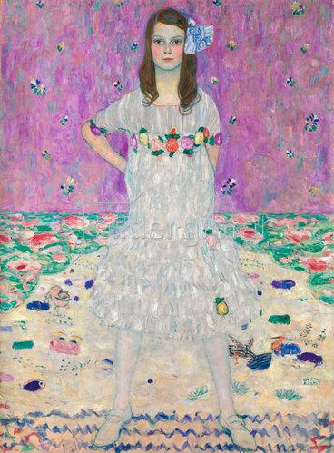 Gustav Klimt: Mäda Primavesi.1912.