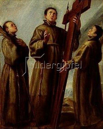 Juan Carreno de Miranda: Das Martyrium der japanischen Franziskaner.