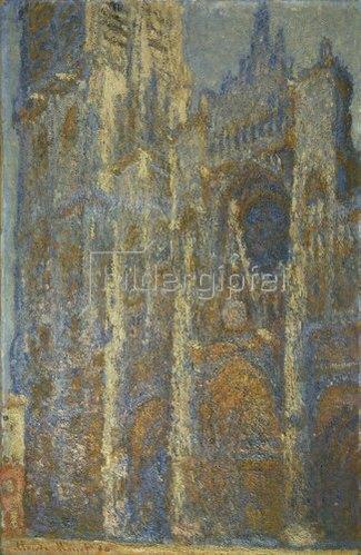 Claude Monet: Die Kathedrale von Rouen, mittags. 1894