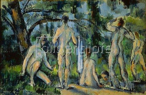 Paul Cézanne: Das Bad. 1892/1894.