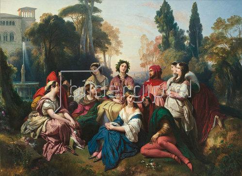 Franz Xaver Winterhalter: Das Dekameron. 1837