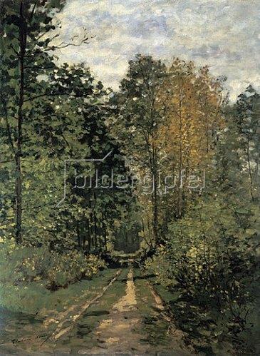Claude Monet: Waldweg.