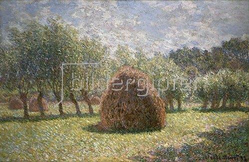 Claude Monet: Heuschober bei Giverny. 1893