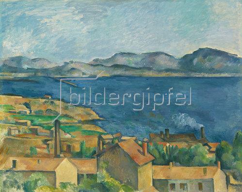 Paul Cézanne: Die Bucht von Marseille. Um 1885