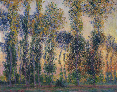 Claude Monet: Die Pappeln in Giverny
