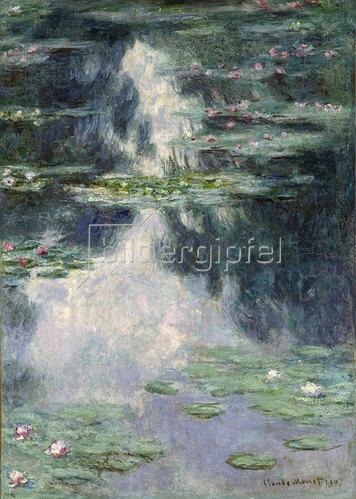 Claude Monet: Der Seerosenteich 1907