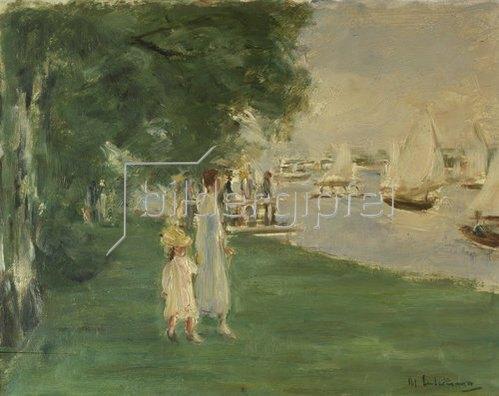 Max Liebermann: Wannseelandschaft. 1924
