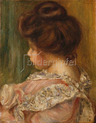 Auguste Renoir: Bildnis eines jungen Mädchens.