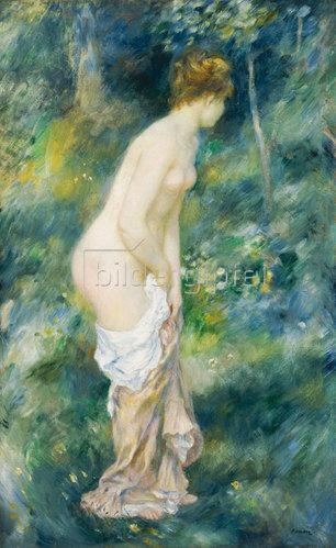 Auguste Renoir: Stehende Badende. 1887