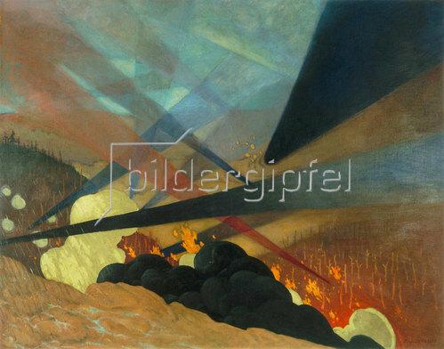 Felix Vallotton: Verdun. 1917