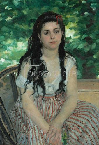 Auguste Renoir: Im Sommer. 1868