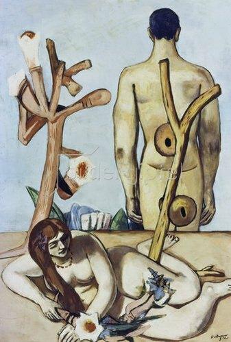 Max Beckmann: Mann und Frau. 1932 (Adam und Eva)