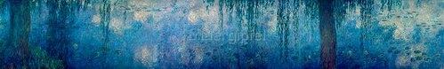 Claude Monet: Seerosen, Morgen mit Trauerweiden