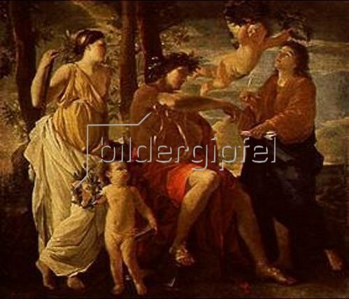 Nicolas Poussin: Die Inspiration des Poeten.