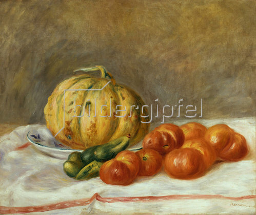 Auguste Renoir: Melone und Tomaten. 1903