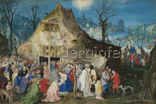 Jan Brueghel d.Ä.: Die Anbetung der Könige. 1598