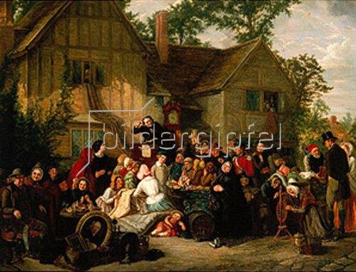 William MacDuff: Eine Auktion auf dem Dorfe. 1856/57.