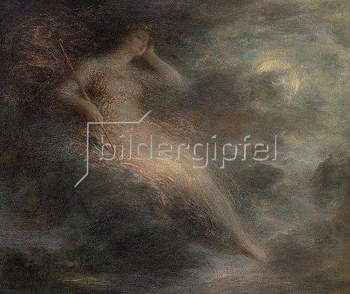 Henri de Fantin-Latour: Die Königin der Nacht.