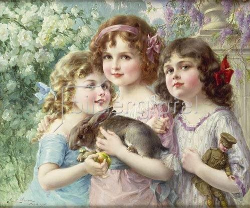 Emile Vernon: Die drei Grazien.