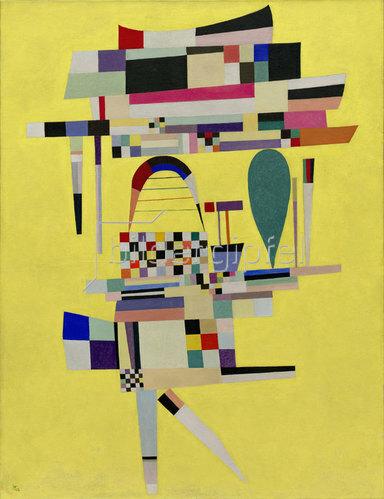Wassily Kandinsky: Das gelbe Gemälde (La Toile jaune). 1938