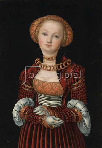 Lucas Cranach d.Ä.: Frauenportrait. Um 1525
