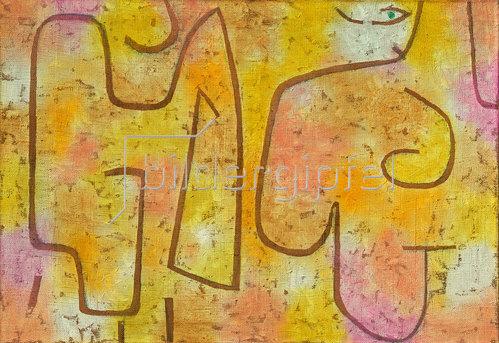 Paul Klee: Dame und Mode. 1938