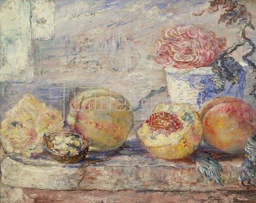 James Ensor: Stilleben mit Pfirsichen. 1890.