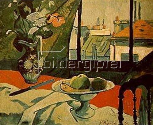 Paul Serusier: Stilleben am Fenster. 1891.