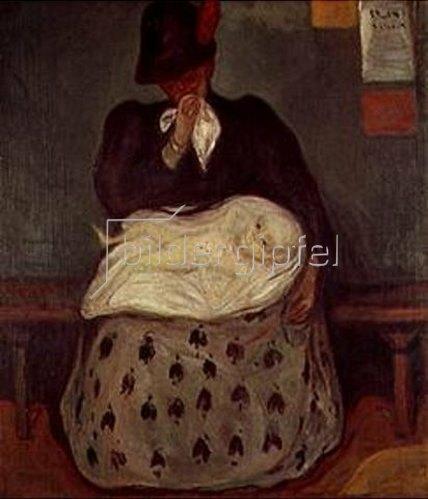 Edvard Munch: Das Erbe. 1899.