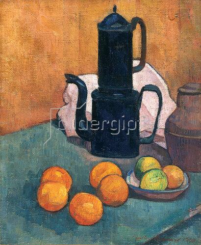 Emile Bernard: Die blaue Kaffeekanne, 1888