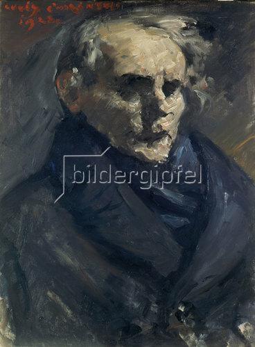 Lovis Corinth: Bildnis des Malers Bernt Grönvold. 1923.