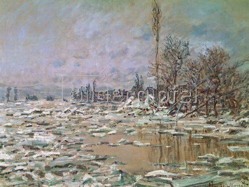 Claude Monet: O Degelo.