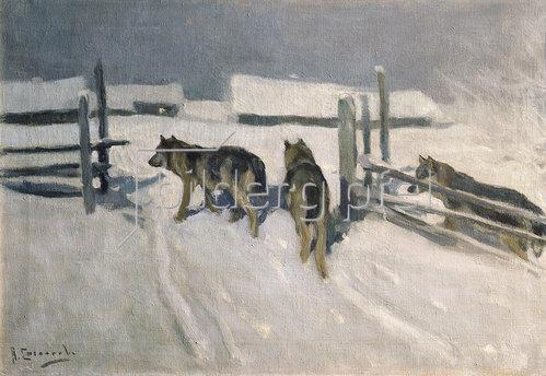 Alexei Stepanowitsch Stepanow: Wölfe