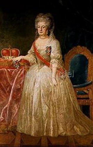 Deutsch: Maria Elisabeth Auguste, Gemahlin des Bayerischen Kurfürsten Karl Theodor.