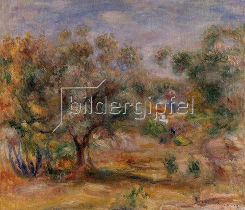 Auguste Renoir: Olivenbaum in Les Collettes. Um 1910/15.