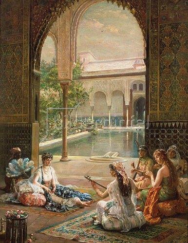 Filippo Baratti: Die Sultanin. 1901