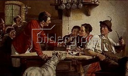 Theodor Kleehaas: Das Angebot. 1887.