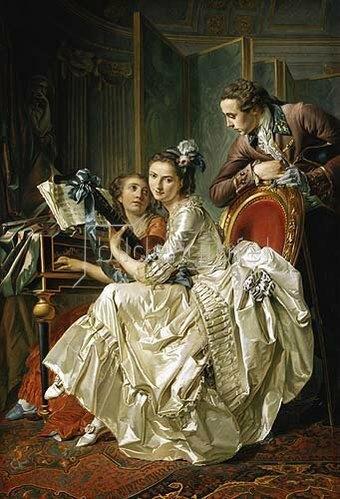 Louis-Rolland Trinquesse: Galante musikalische Unterhaltung. 1774