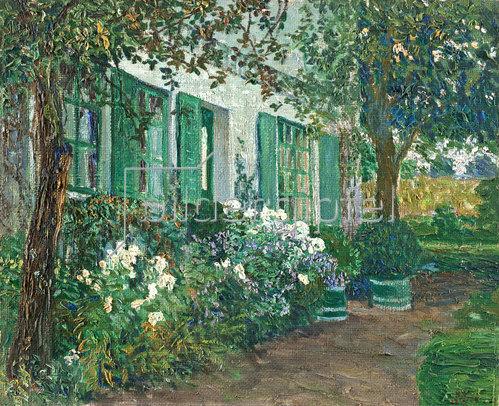 Heinrich Vogeler: Weißer Phlox. 1906.