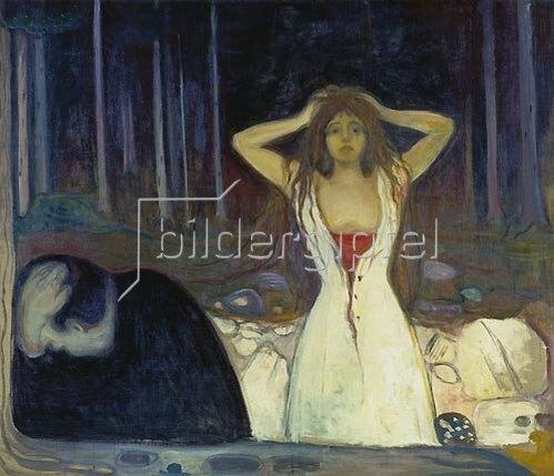 Edvard Munch: Asche. 1894