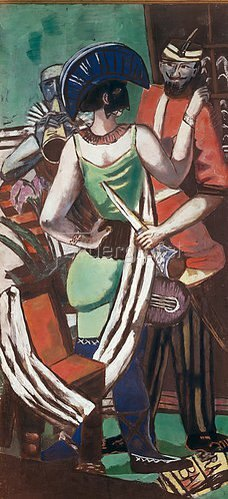 Max Beckmann: Fastnacht Paris. 1930.